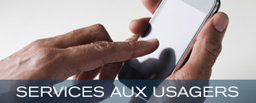 Service aux usagers