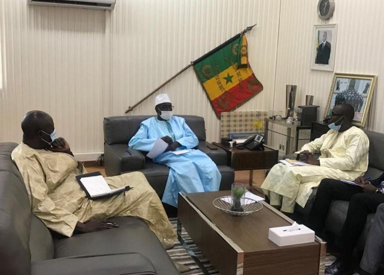 Rencontre du Monsieur le Ministre de l'Intérieur, M. Aly Ngouille NDIAYE avec l'Amicale des Secrétaires d'Administration du Sénégal